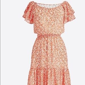 J. Crew Factory tiered floral dress